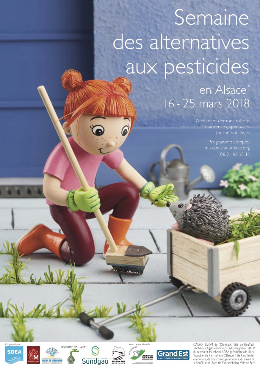 Programme semaine des alternatives aux pesticides du 16 au 25 mars