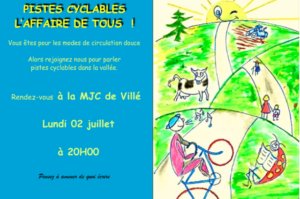 Forum pistes cyclables @ mjc le vivarium