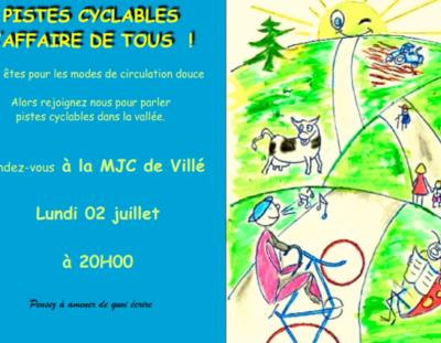 Forum pistes cyclables dans la Vallée de Villé !